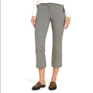 NWT Nordstrom Halogen Kick Flare Gray Ankle Pant